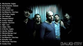 daughtry, creed, nickelback, and 3 doors down Greatest Hits - Alternative Rock Complication