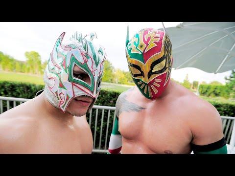 WWE Kalisto and Sin Cara(Lucha Dragons)