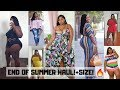 FOR REAL? ALREADY??! LAST DAYS OF SUMMER HAUL! PLUS SIZE FASHION | SHOP LACENLEOPARD