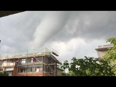 Tornado Hamburg 07.06.16 Farmsen-Berne