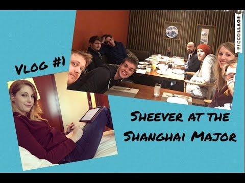 Sheever at the Shanghai Major - Vlog #1