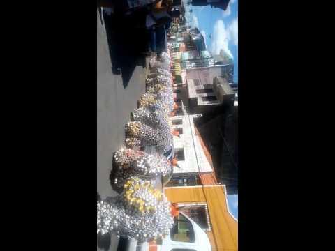 Bloco da latinha, carnaval de Madre de Deus Bahia
