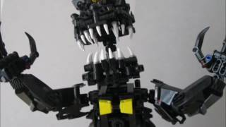 Bionicle MOC FNaF Nightmare (Кошмар)