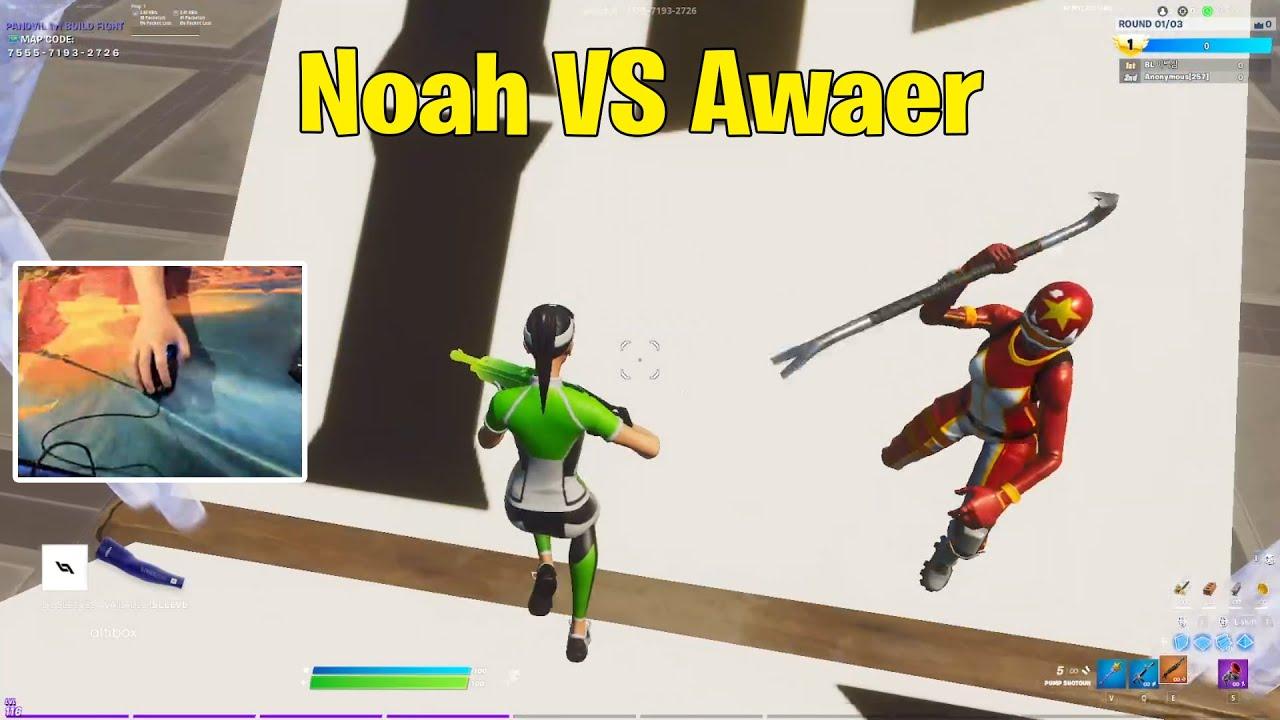 Noahreyli VS OVA Awaer 1v1 Buildfights! Fortnite 1v1