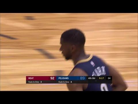 4th Quarter, One Box Video: New Orleans Pelicans vs. Miami Heat