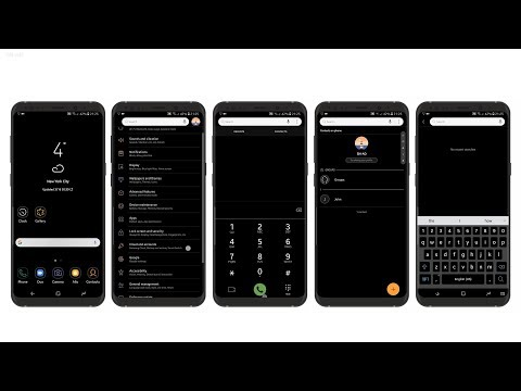 Installing Dark Theme on Samsung Galaxy Note9/S9/S9+/S8/S8+/