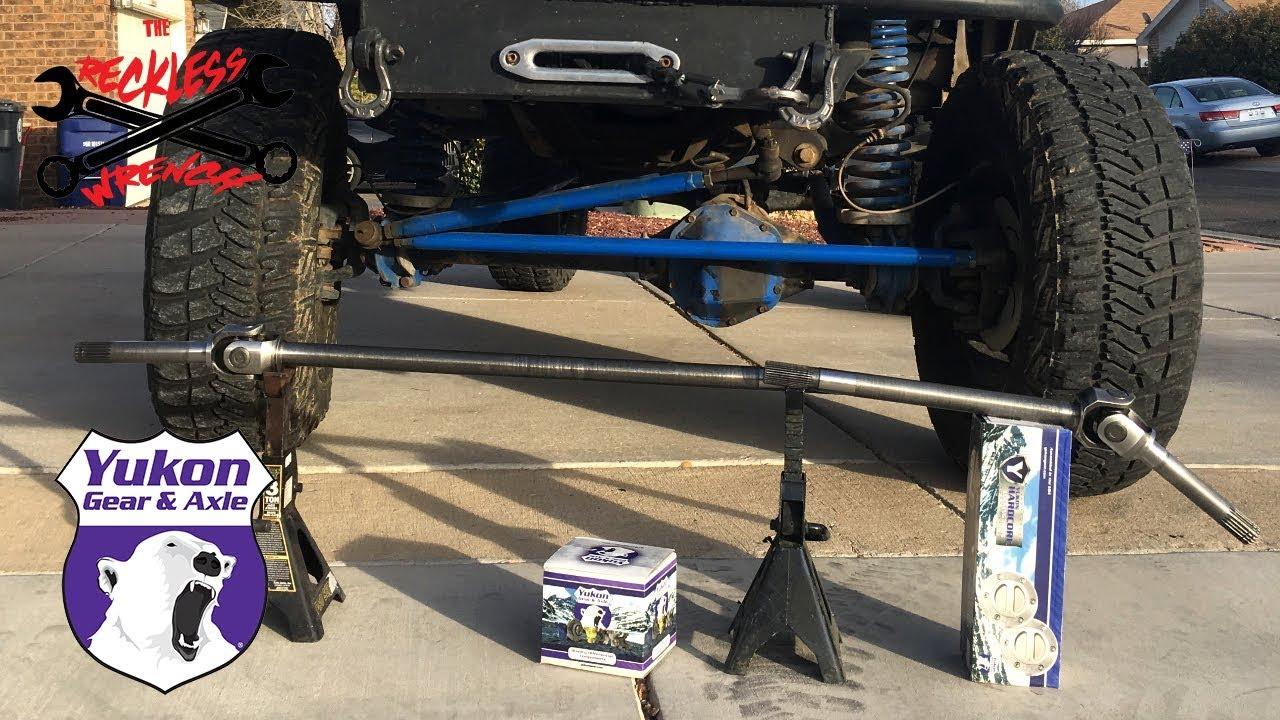 Yukon Hardcore Locking Hubs & Chromoly Axles for Dana 44 - Reckless Wrench  Garage