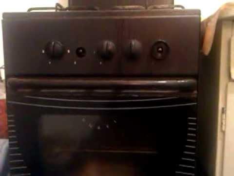 Как зажечь газовую духовку?