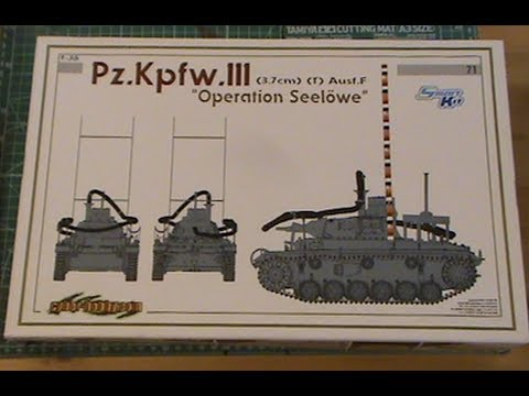 Dragon / Cyber-hobby Panzer III (Tauchpanzer) 3.7cm