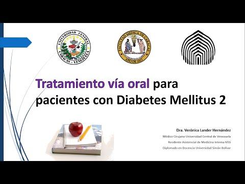 Tratamiento via oral diabetes