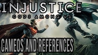 Injustice Gods Among Us Easter Eggs - The Many Cameos and References of Injustice
