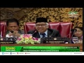 Rapat Paripurna DPR RI Ke-7 Masa Persidangan I Tahun Sidang 2018-2019