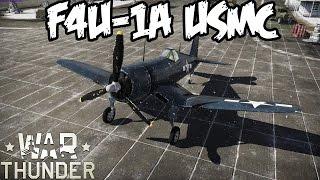 war thunder squad gameplay f4u 1a usmc corsair realistic battle air superiority
