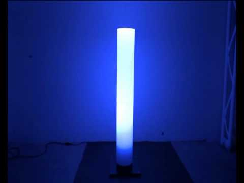 tube lumineux led qui change de couleur youtube. Black Bedroom Furniture Sets. Home Design Ideas