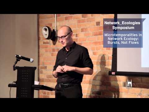 Microtemporalities in Network Ecology: In Bursts, Not Flows (Keynote)