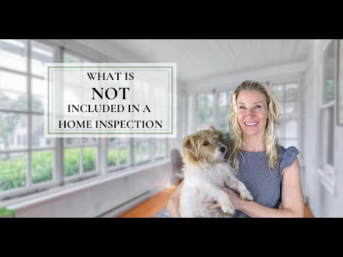 What is NOT included in a Home Inspection in The Main Line PA? 📝🏘