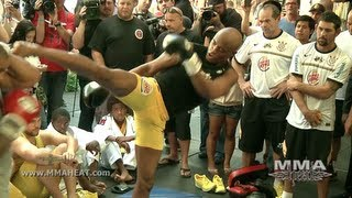 UFC 148: Anderson Silva's Complete 40min Open Workout (unedited)