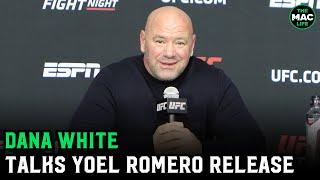 Dana White on Yoel Romero release: