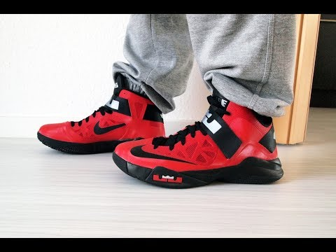 Nike LeBron Zoom Soldier 6 on Feet Review
