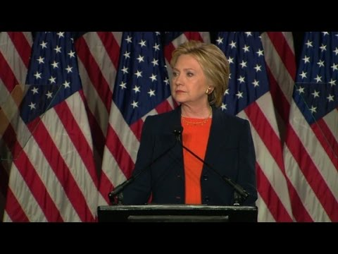 Hillary Clinton: Donald Trump 'unfit' to be president
