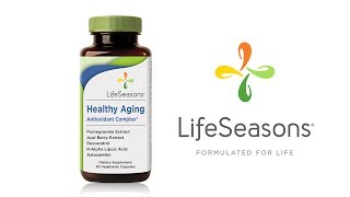 Healthy Aging Antioxidant Complex Supplement from LifeSeasons