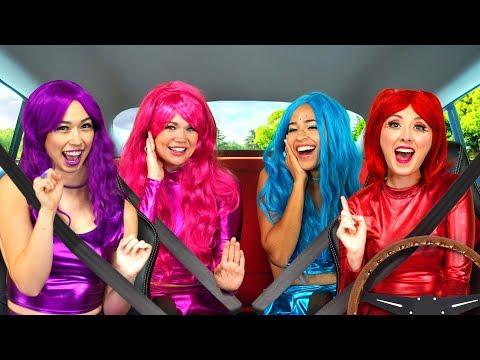 THE SUPER POPS CARPOOL KARAOKE Totally TV Challenge