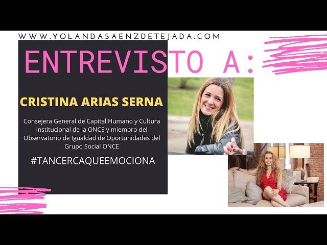 Igualdad y discapacidad. Cristina Arias entrevistada por Yolanda Sáenz de Tejada.