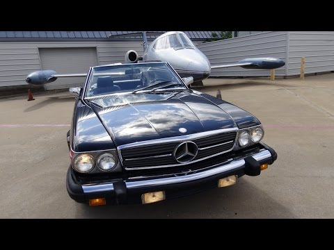 1988 mercedes benz 560sl convertible classic in dallas for Mercedes benz repair dallas