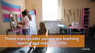 Transgender Armenians stitch and sew their way out of prejudice