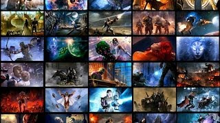 Injustice: Gods Among Us - All DC Character Endings (Including DLC) (HD)
