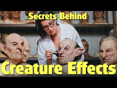 Secrets Behind Creature Effects with Warwick Davis | A Celebration of Harry Potter 2017