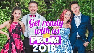 Six Days of SENIOR PROM 2018 | #Prom Get Ready With Me thumbnail
