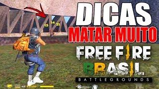 COMO MATAR MUITO NO FREE FIRE BATTLEGROUNDS