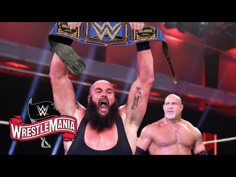 11 SHOCKING Last Minute WWE Wrestlemania 36 Rumors & Spoilers You Need To Know! Braun Def. Goldberg!
