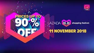 Bocoran Promo Festival Belanja 11.11 Lazada Online Revolution  -  HARBOLNAS