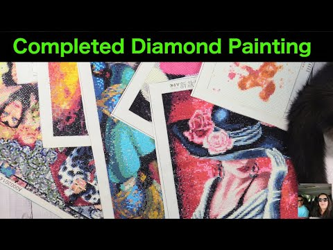 Completed Diamond Painting Projects Finished Arts & Crafts | PaulAndShannonsLife