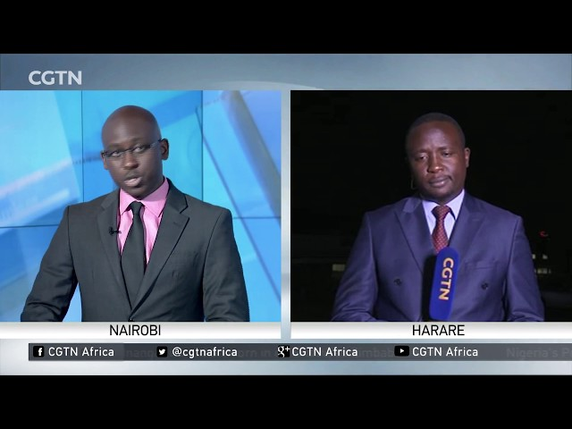 Mnangagwa meets with South Africa's Jacob Zuma