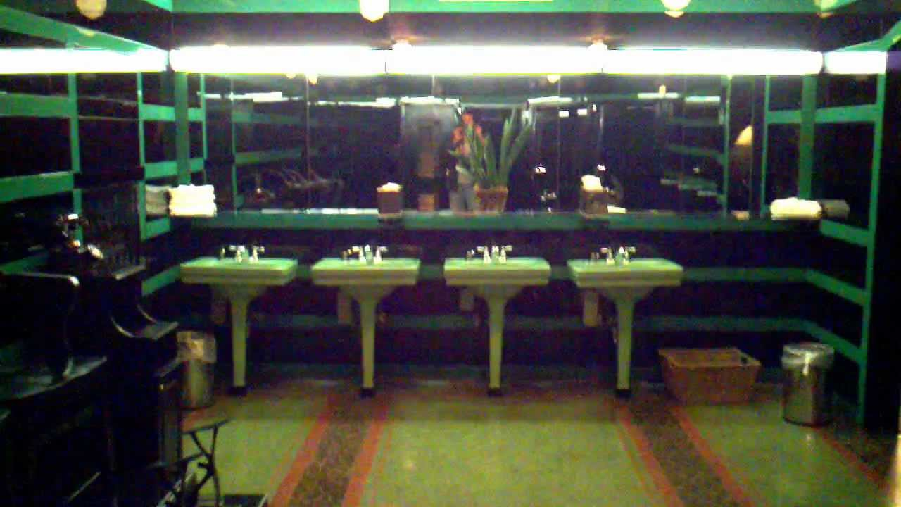 Art Deco Bathroom At The Hermitage Hotel In Nashville Tennessee You