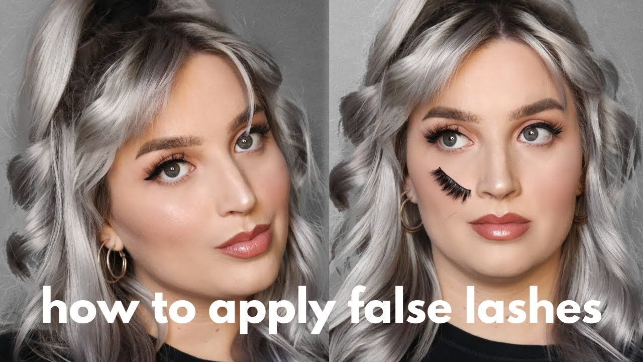 How to apply false lashes (in depth) + tips & tricks for ...