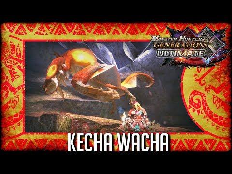 Monster Hunter Generations Ultimate: Kecha Wacha thumbnail
