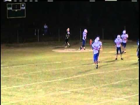 Hunter Farrior Senior Football Highlights