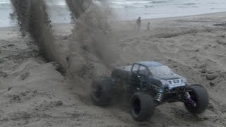 sand dune bashing hpi savage xl hp flux 4s mamba monster