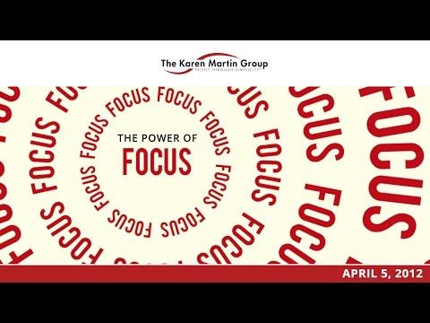The Outstanding Organization - The Power of Focus
