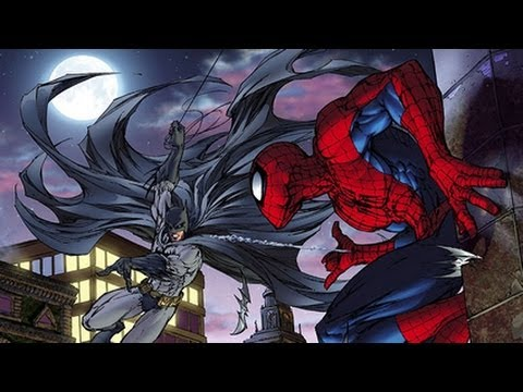 Image result for spiderman versus batman