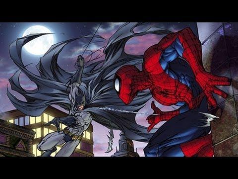 batman and spiderman