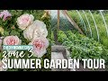 2017 Summer Garden Tour | Zone 3 Flowers & Veggies!