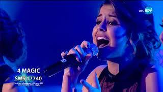 4 MAGIC и Християна Лоизу - Feeling Good - X Factor Live (17.12.2017)