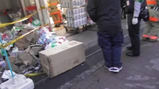 【放火?】スギ薬局 高田馬場店 火事  新宿区