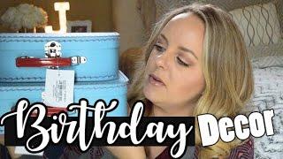 Airplane Birthday Party Theme Decor