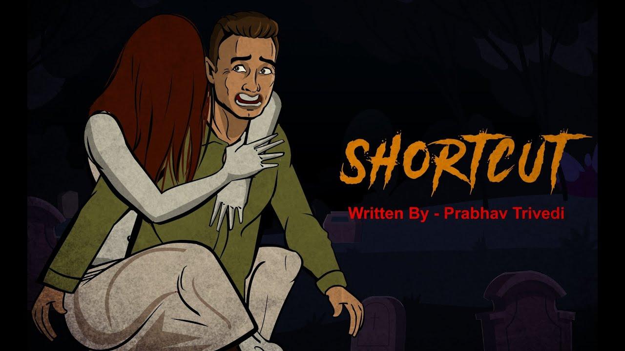 Shortcut   शॉर्टकट   Chudail Hindi Horror Stories   Evil Cat Horror Stories